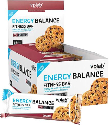 Энергетический батончик Vplab Energy Balance Fitness Bar (VP laboratory)