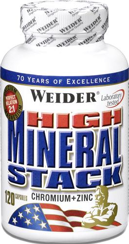 Минералы Weider High Mineral Stack