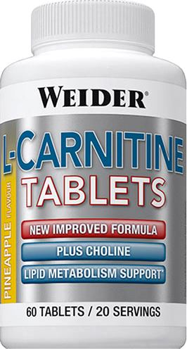 Карнитин Weider L-Carnitine Tablets