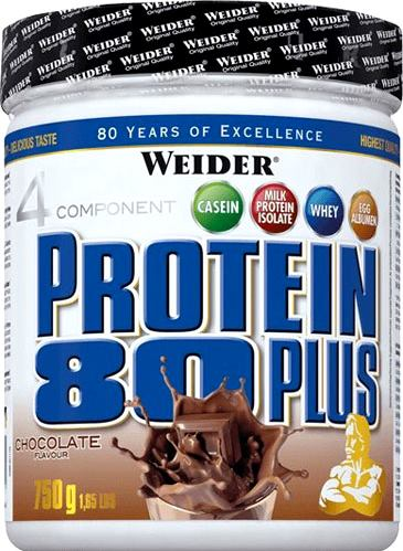 Протеин Weider Protein 80 Plus 750g can