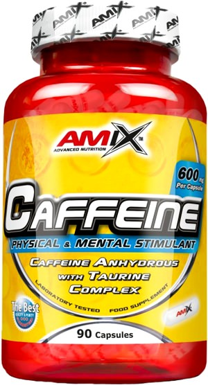 Кофеин с таурином Caffeine 200mg with Taurine от AMIX