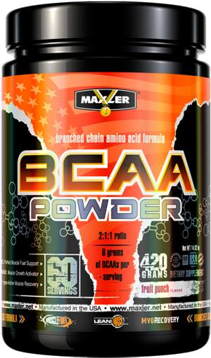 BCAA Powder 2-1-1 Ratio от Maxler