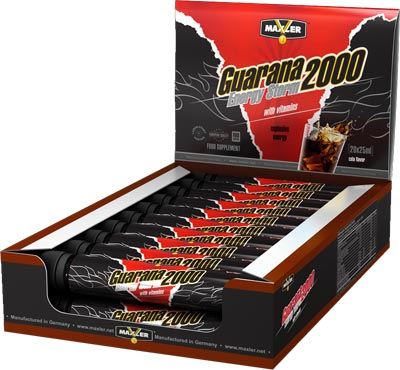 Гуарана Energy Storm Guarana 2000 Shots от Maxler