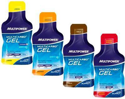 Энергетический гель Multicarbo Gel от Multipower