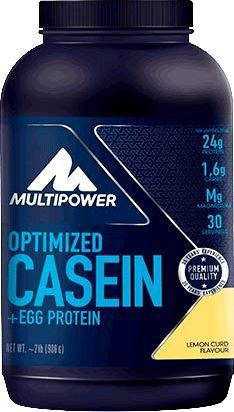 Казеин Optimized Casein + Egg Protein от Multipower