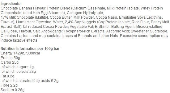 Состав Multipower Professional 50 % Protein Bar