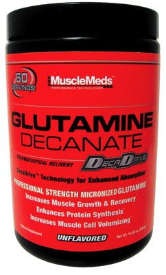 GLUTAMINE DECANATE от MuscleMeds