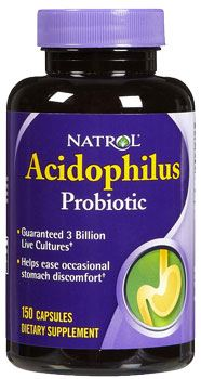Пробиотик Acidophilus Probiotic от Natrol