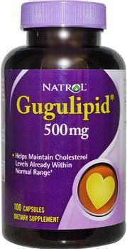 Экстракт коммифоры мукул Gugulipid от Natrol