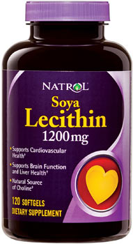 Лецитин Natrol Soya Lecithin 1200mg