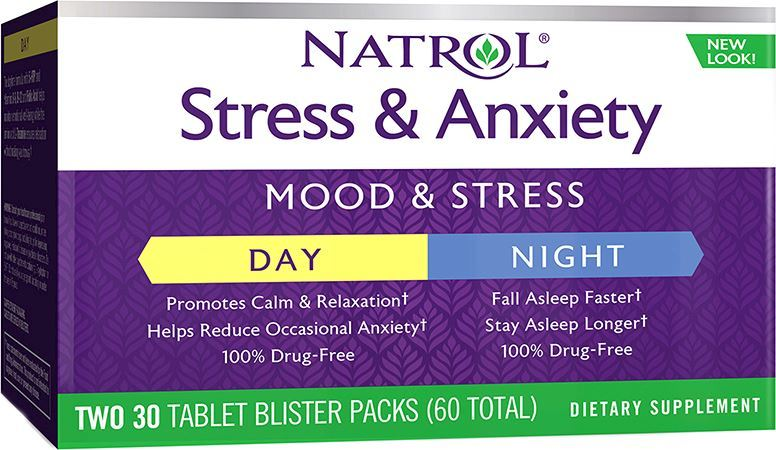 Natrol Stress Anxiety Day Night