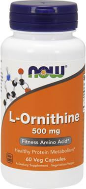Орнитин NOW L-Ornithine 500mg