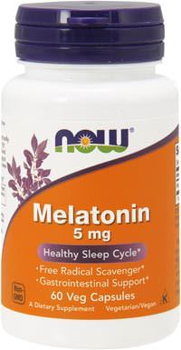 Мелатонин Melatonin 5mg от NOW