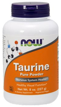 NOW Taurine Pure Powder