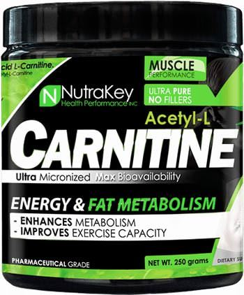 Ацетил карнитин Acetyl L-Carnitine Powder от NutraKey