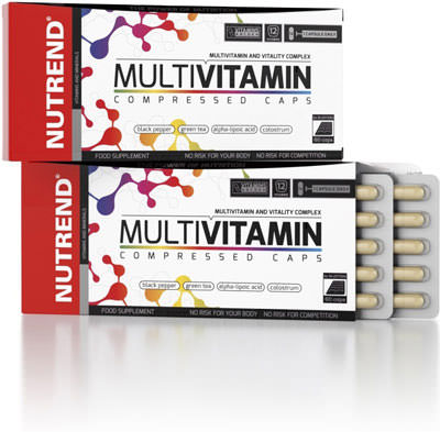 Витамины Multivitamin Compressed от Nutrend