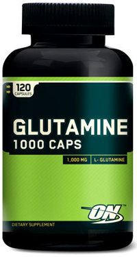 Glutamine 1000 120 капсул от Optimum Nutrition
