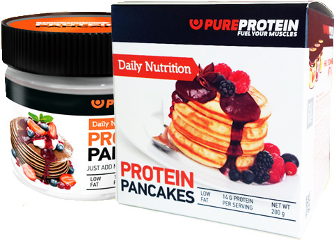Протеиновые блины Protein Pancakes Daily Nutrition от PureProtein
