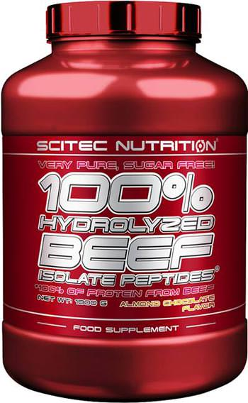 Говяжий изолят 100% Hydrolysed Beef Isolate Peptides от Scitec Nutrition