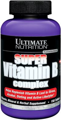 Витамины группы Б Super Vitamin B Complex от Ultimate Nutrition