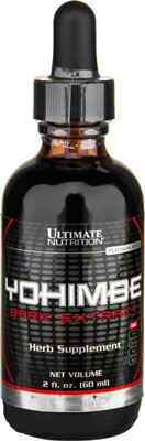 Йохимбин Yohimbe Bark Liquid Extract от Ultimate Nutrition