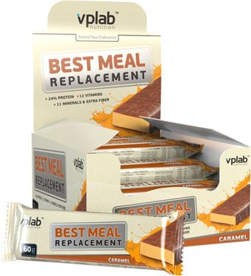 Батончики VPlab Best Meal Replacement