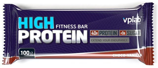 Батончики VPlab High Protein Bar