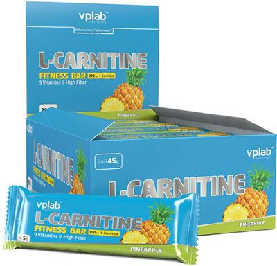 Батончик Vplab L-Carnitine Bar
