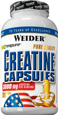 Weider Pure Creatine 200 caps