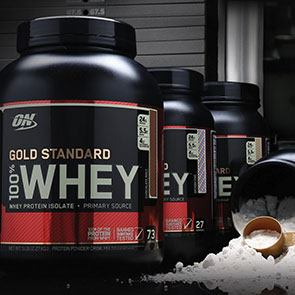 100% Whey Gold Standard - протеин Optimum Nutrition
