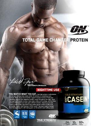 Gold Standard 100% Casein - казеин от Optimum Nutrition
