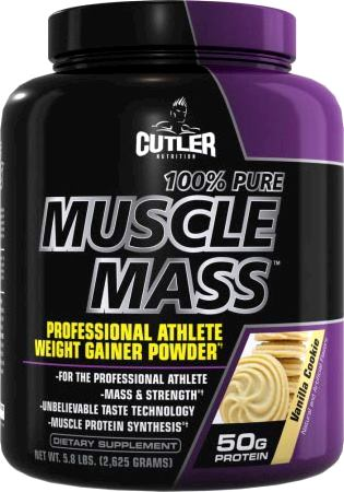Гейнер Cutler Nutrition 100% Pure Muscle Mass