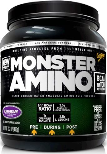Аминокислоты BCAA CytoSport Monster Amino