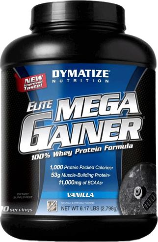 Гейнер Dymatize Nutrition Elite Mega Gainer