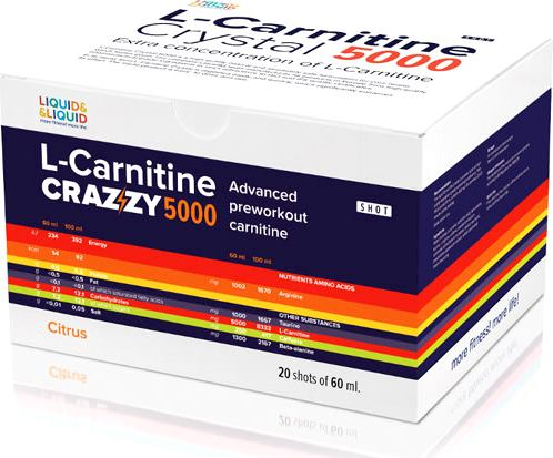 Карнитин Liquid Liquid L-Carnitine Crazzy 5000