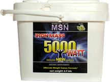 Гейнер MSN Iron Mass 5000 Watt