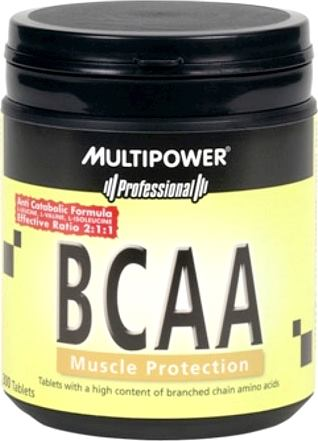 BCAA аминокислоты Multipower BCAA Muscle Protection