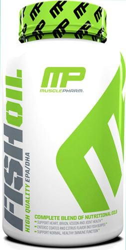Рыбий жир Омега-3 MusclePharm Fish Oil EPA/DHA