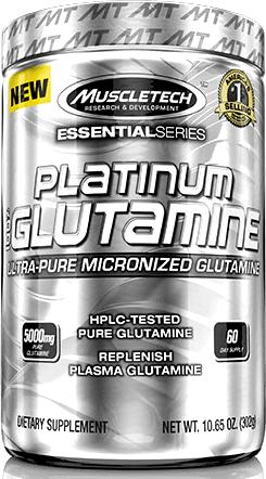 Глютамин MuscleTech Platinum 100% Glutamine Essential Series