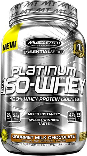 Протеин MuscleTech Platinum 100% ISO-Whey Essential Series