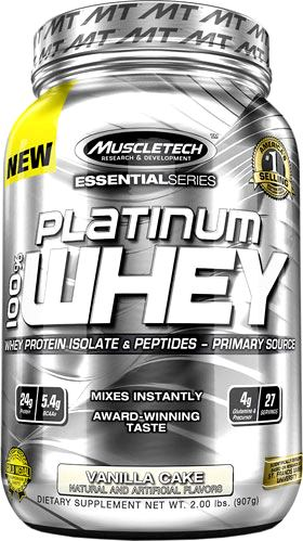 Протеин MuscleTech Platinum 100% Whey