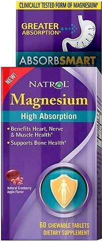 Магний Natrol High Absorption Magnesium