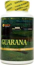 Гуарана Natures Science Guarana 1000mg