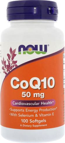 Коэнзим Q10 NOW CoQ10 50mg