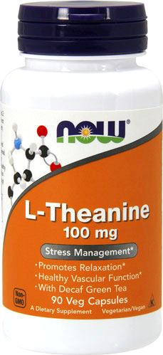 Аминокислоты теанин NOW L-Theanine 100mg