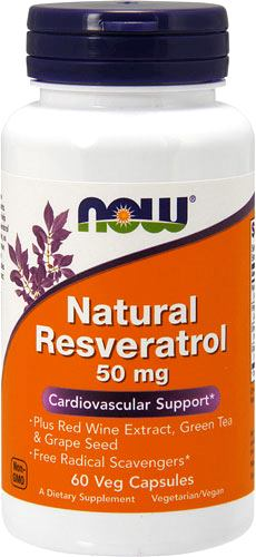 Витамины NOW Natural Resveratrol