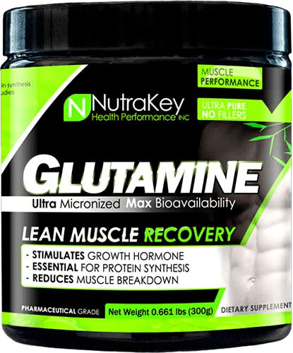 Глютамин NutraKey Glutamine Powder