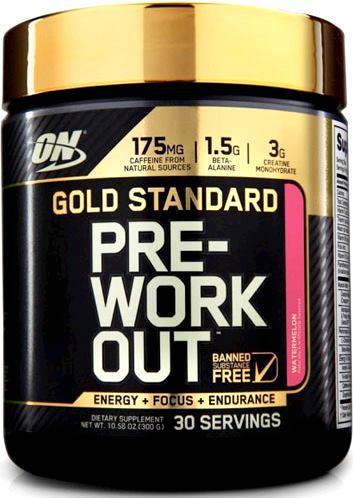 PRE-WORKOUT Gold Standard от Optimum Nutrition
