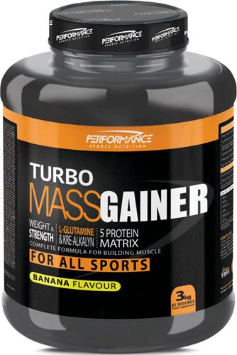 Гейнер Performance Turbo Mass Gainer