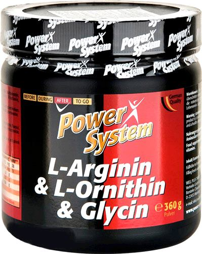 Аминокислоты Power System L-Arginin L-Ornithin Glycin
